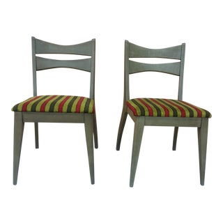 Brandt Mid-Century Modern Side Chairs - A Pair