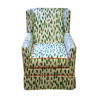 Custom Upholstered Braeton Swivel Club Chair