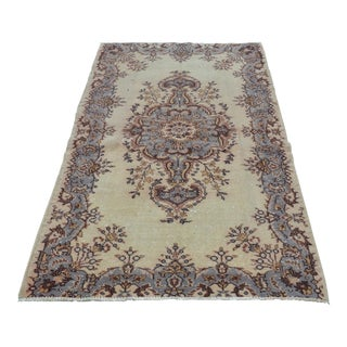 Turkish Handwoven Rug - 3′9″ × 6′9″