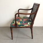 Vintage Faux Bamboo Accent Chair Chairish