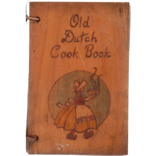 Old Wooden Dutch Cookbook