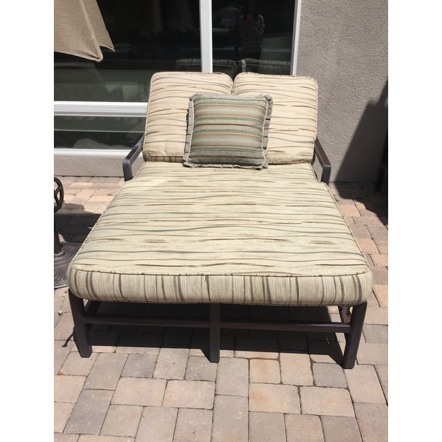 Outdoor Double Chaise - Image 3 of 9