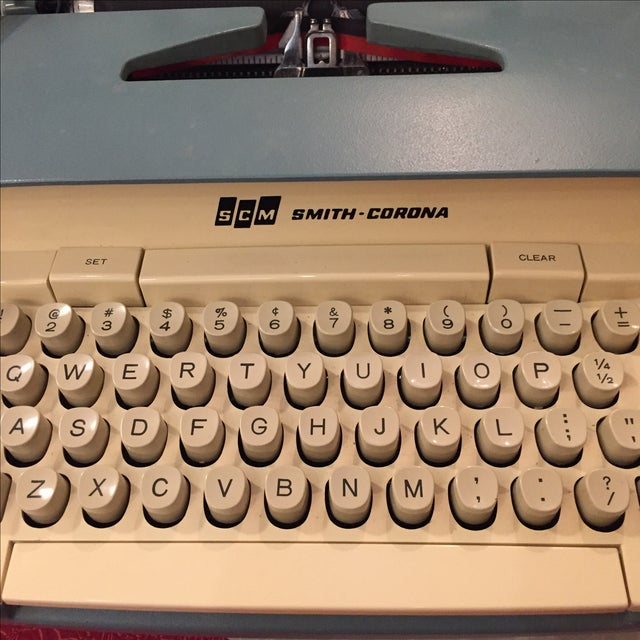 Smith Corona Typewriter 1960s Electric Coronet - Image 4 of 11