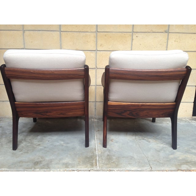 Ole Wanscher Mid-Century Rosewood Chairs - A Pair - Image 6 of 9