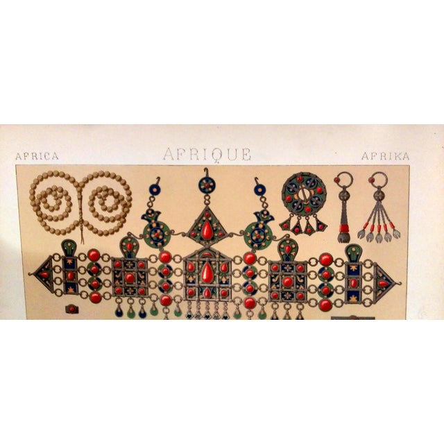 1888 Ornaments of Ancient Africa Lithograph - Image 3 of 8