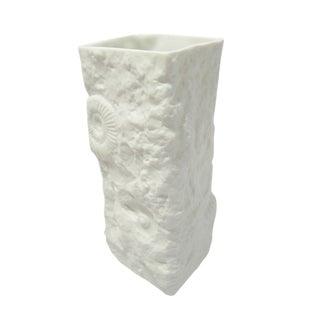 Vintage Mid-Century Modern Bisque Porcelain Vase