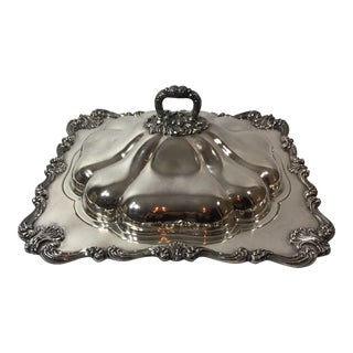 W & S Blackinton Silver Plated Lidded Tray