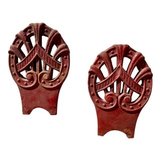 Decorative Chinese Roof Tiles - A Pair