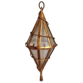 Tassled Venetian Hanging Lantern