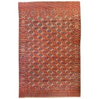Incredible 19th Century Tekeh Rug