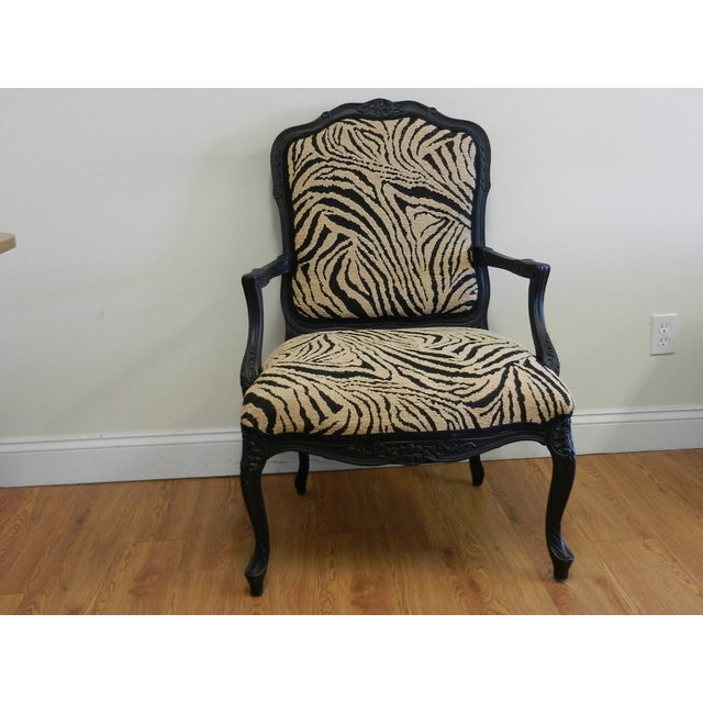 Louis XIV French Provincial Occasional Chair - Image 2 of 7