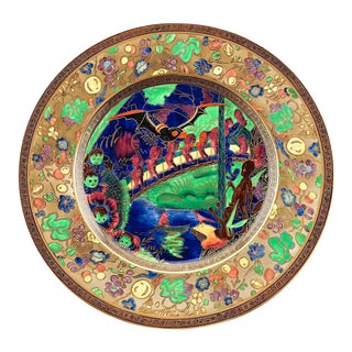 Fairyland Lustre Plate by Wedgwood