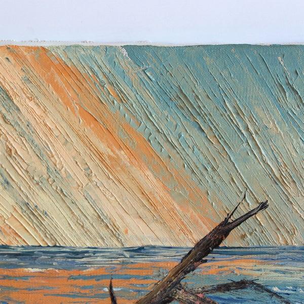 Vintage Seascape Painting - Image 4 of 5