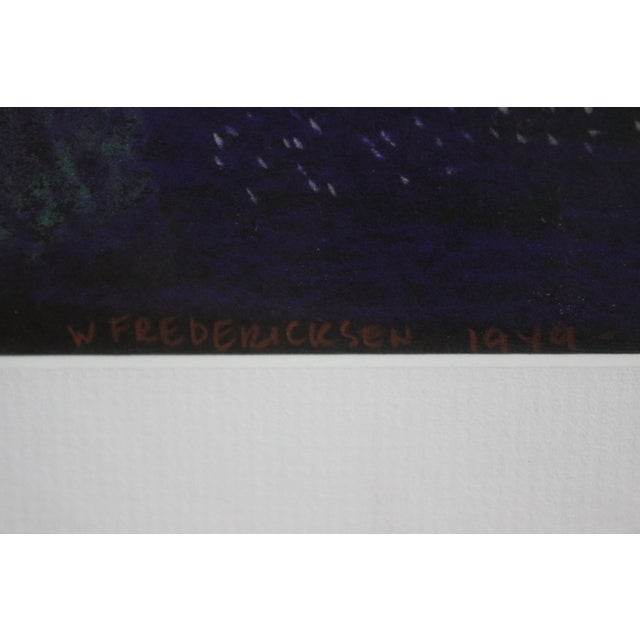 Image of William Fredericksen Modernist Painting