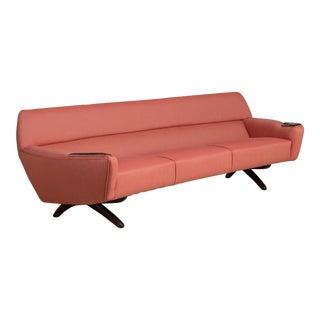 A Rare Danish Sofa circa 1964 designed by Leif Hansen