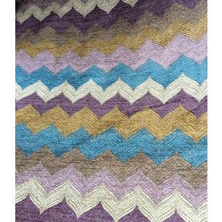 Jonathan Louis Geometric Chenille Fabric - 5 Yards