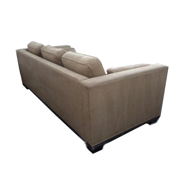 "Baker ""Modern Reed"" Sofa by Barbara Barry - Image 3 of 9"