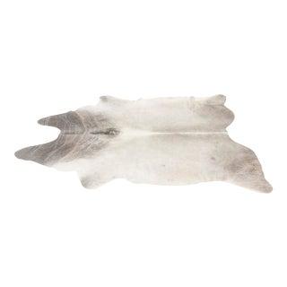 Genuine Brazilian Cowhide, Silver