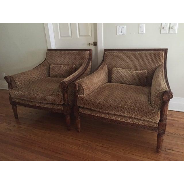Custom Berbers Lounge Chairs - 2 - Image 2 of 7