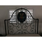 Image of Ornate Iron Queen Size Bed
