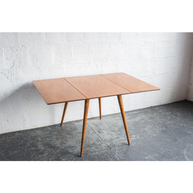 Paul McCobb Drop Leaf Dining Table - Image 3 of 9