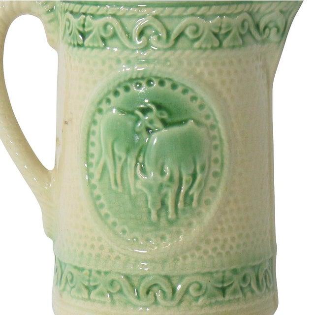 Antique Ceramic Cow Pitcher - Image 2 of 9