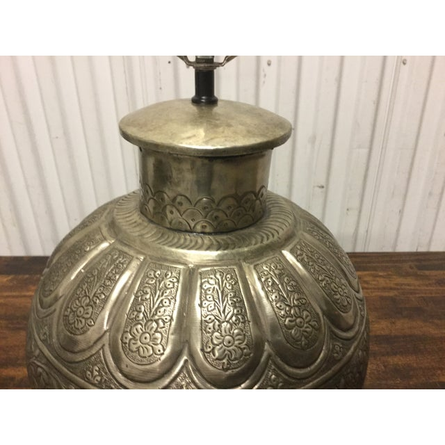 Image of Vintage 1960s Modern Moroccan Table Lamps - A Pair