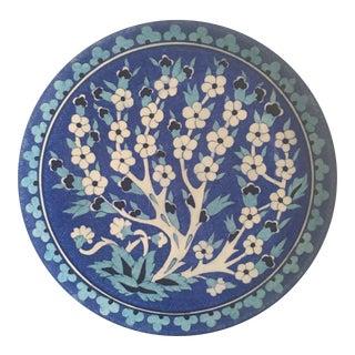 Turkish Iznik Decorative Plate