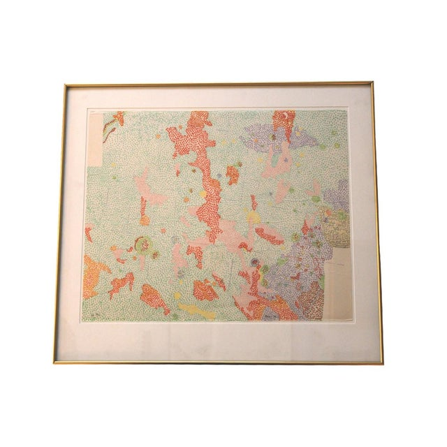 Color Lithograph by Nancy Stevenson Graves - Image 1 of 4
