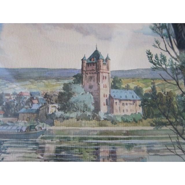 Zimmermann Vintage German Landscape Print - Image 5 of 11