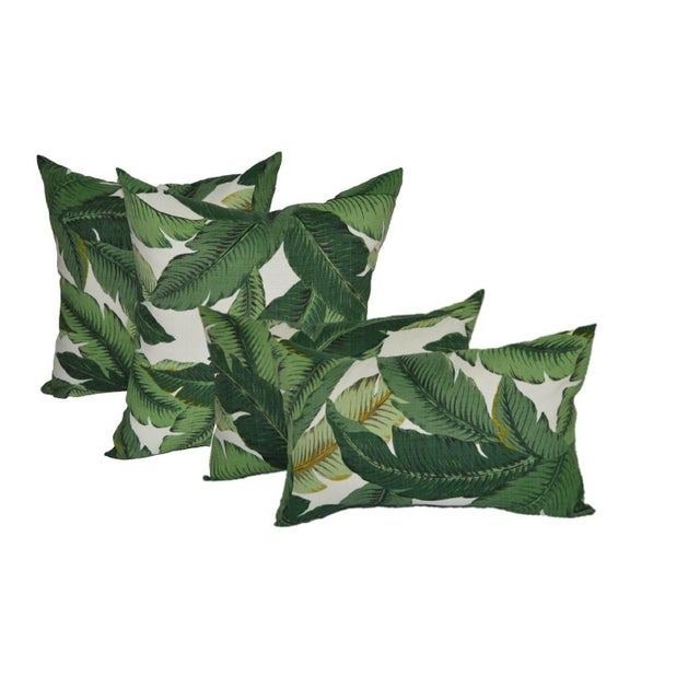 Image of Swaying Palm Square & Rectangle Pillows - Set of 4