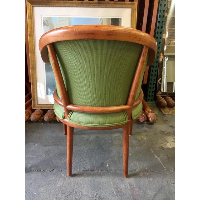 Green Corduroy & Bent Wood Chair - Image 5 of 8