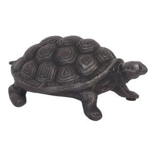 Mid-Century Aluminum Turtle Sculpture