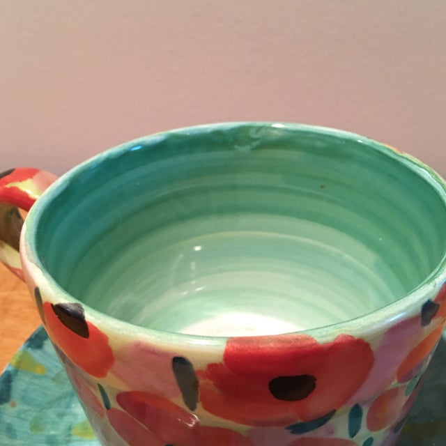 Impressionist Waterlily Large Teacup - Image 3 of 6