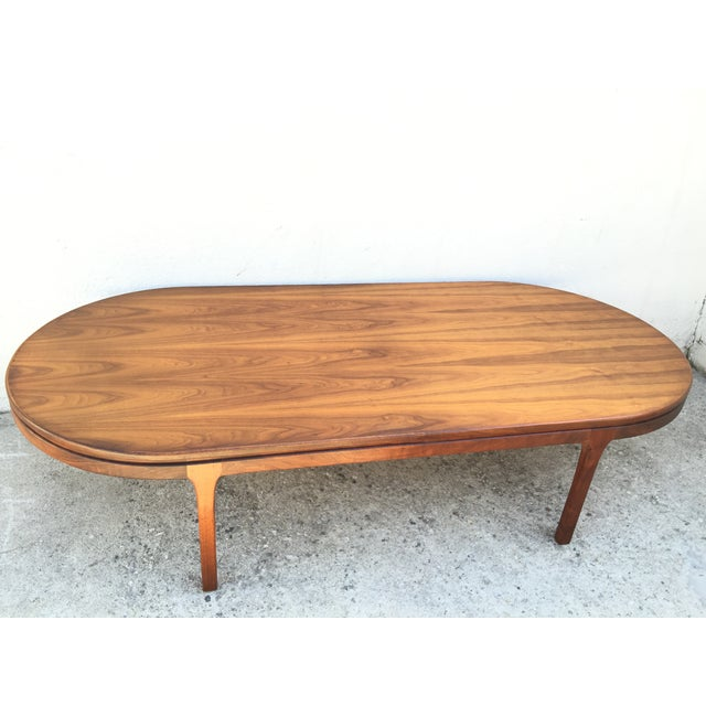 Mid-Century Walnut Coffee Table - Image 4 of 11