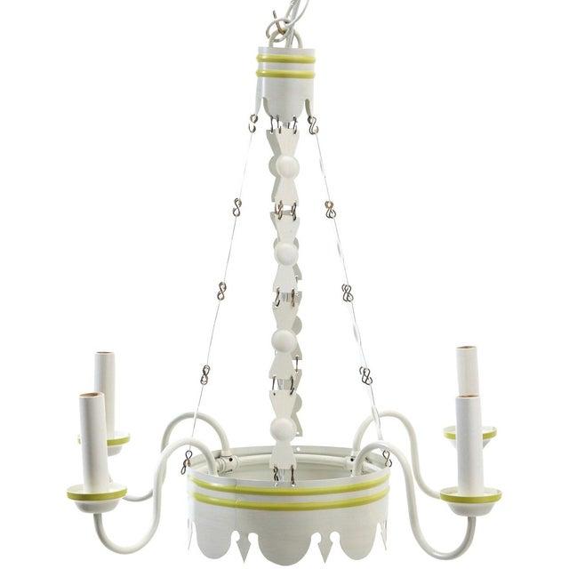 Lamplight Designs LeanderTole Chandelier - Image 3 of 3