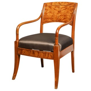 Danish Biedermeier Arm Chair