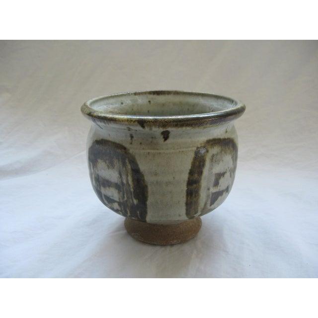 Mid-Century Studio Pedestal Bowl - Image 3 of 6