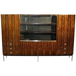 Macassar Ebony Cabinet by De Coene