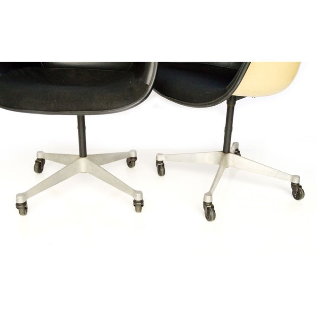 vintage herman miller eames shell office chairs chairish