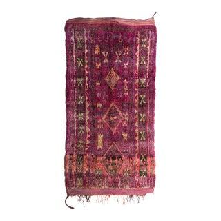 Vintage Moroccan Talsent Rug - 5′4″ × 10′2″