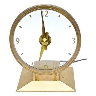Vintage Art Deco Atomic Clock