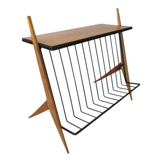 Arthur Umanoff Magazine Rack / Table