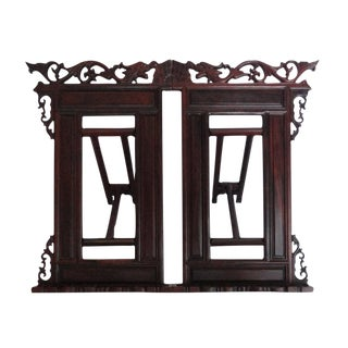 Chinese Handmade Rosewood Reading Book Holder