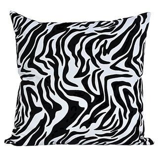Zebra Faux Leather Decorative Pillows - 2