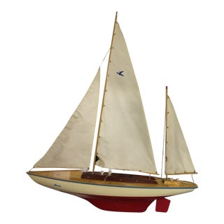 Passat Wooden Sailboat Model