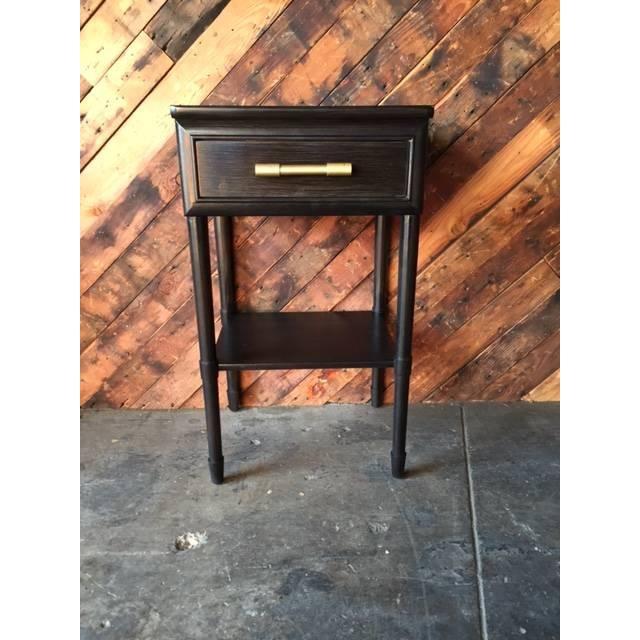 Image of Raymond Loewy Vintage Brown Side Table