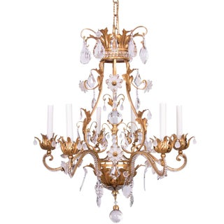 French Baguès Chandelier