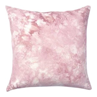 "Marbled Blush Pink Pillow Cover - 18"" x 18"""