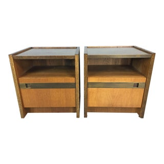 Vintage Harry Lunstead Nightstands - Pair